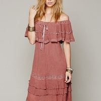 Free People Athena Off-The-Shoulder Dress