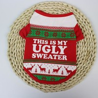 My Ugly Sweater For Small Dogs