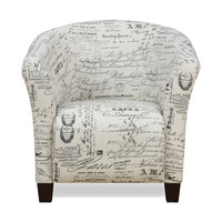 Murphy Accent Chair CHOICE OF COLORS