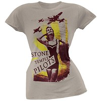 Stone Temple Pilots - Bomb Girl Juniors T-Shirt