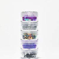 More Sparkly Than Dull Glitter Stack