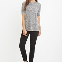 Marled Knit Tee | FOREVER 21 - 2000156979