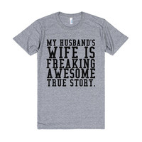 HUSBAND'S WIFE IS FREAKING AWESOME TRUE STORY GR