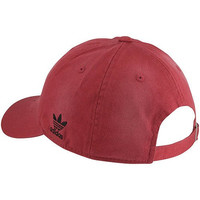 NBA adidas Miami Heat Garment Washed Adjustable Slouch Hat - Red