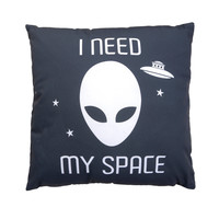 I Need Space Throw Pillow