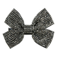 Rhinestone Bow Hair Clip | Shop Trending Now at Wet Seal