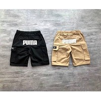 PUMA summer must-have men and women with the same tooling five points shorts F-YF-MLBKS