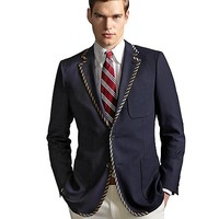 The Great Gatsby Collection Tipped Blazer - Brooks Brothers