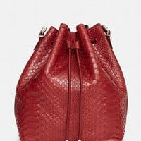 Proenza Schouler Soft Matte Python Large Bucket Bag - WOMEN - JUST IN - Bags & Wallets - Proenza Schouler