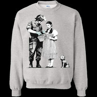 Banksy's Dorothy Asking Police for Directions Sweatshirt