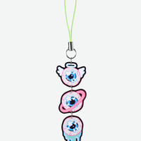 Space Angel Eyes phone charm