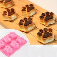Cat Paws Multi-Functional DIY Cake - Chocolate - Ice Cube Mold