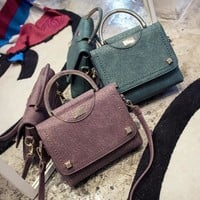 Summer Small Size Casual Stylish One Shoulder Messenger Bags [6581508295]