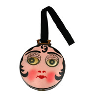 Charming Googly Eyed Flapper Dance Purse