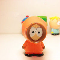 """Kenny McCormick ~ South Park Buildable Figurine Topper ~2"""" ORANGE"""