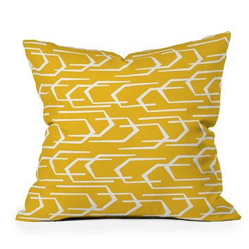 Heather Dutton Going Places Sunkissed Throw Pillow
