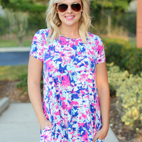 What I Love Dress - Floral