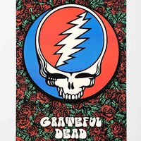 Grateful Dead Roses Poster- Red Multi One