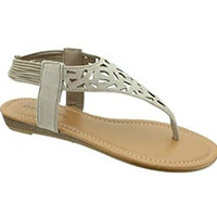 Wrecking Ball Sandals - Nude