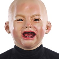 Crying Baby Mask funny for Halloween
