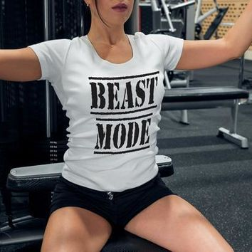 Beast Mode Womens Fitness Tank Top