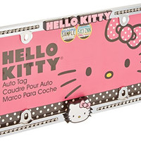 Chroma 42506 Hello Kitty Pink Bow Face and Diamond Stud Chrome Frame