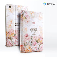 Luxury Designer Case For Ipad Mini 3 Smart Stand Case 3D Embossing For Ipad Mini 2 Cover In Fashion Style