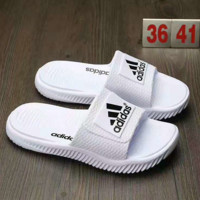 """Adidas"" Men Coconut Slippers Fashion Casual Comfortable Sandals Shoes B-AHXF  QF White"