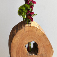 ModCloth Rustic Wooden That Be Something? Vase