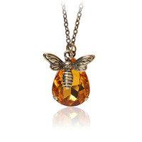 Gift New Arrival Stylish Jewelry Shiny Crystal Accessory Innovative Design Necklace [9571980047]