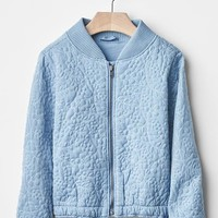 Gap Baby Floral Quilted Bomber
