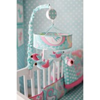 My Baby Sam Pixie Baby Musical Mobile in Aqua