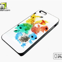 Pikachu Painting Pokemon iPhone 5s Case Cover by Avallen