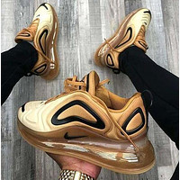 Bunchsun Nike Air Max 720 Classic Popular Men Women Air Cushion Sport Running Shoes Sneakers Rainbow