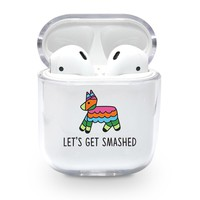 Let's Get Smashed Piñata Airpods Case