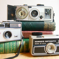 Instamatic Cameras Instant Collection by FalconandFinch on Etsy