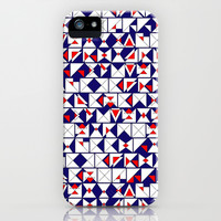Americana Chaos iPhone & iPod Case by Chris Klemens