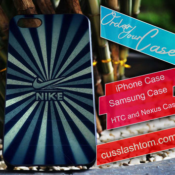 Exclusive Nike Vector iPhone for 4 5 5c 6 Plus Case, Samsung Galaxy for S3 S4 S5 Note 3 4 Case, iPod for 4 5 Case, HtC One M7 M8