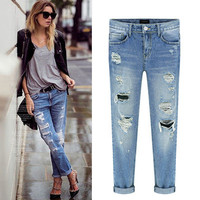 Women Jeans Jeans Denims Trousers Pants  _ 8216