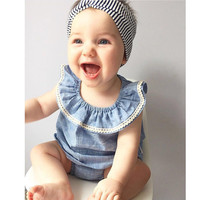 New style summer Baby girl clothes set