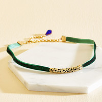 A Taste for the Finery Things Velvet Choker | Mod Retro Vintage Necklaces | ModCloth.com
