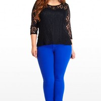 Plus Size Royal Stretch Skinny Jeans | Fashion To Figure
