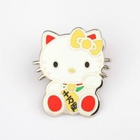 Hello Kitty Collector's Pin: Lucky Cat
