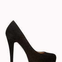 FOREVER 21 Soiree Platform Pumps