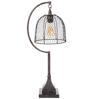 Lamp with Chicken Wire Shade | Hobby Lobby | 1426634