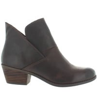 Me Too Zale - Brown Leather Pull-On Bootie