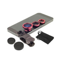 Newest 3 In 1HD Wide Angle Universal Clip Camera Mobile Phone Len FishEye Macro For Iphone 4 5 6s Plus Samsung S4 S5 Note2 LG