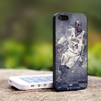 Kobe Bryant LA Lakers - For iPhone 5 Black Case Cover