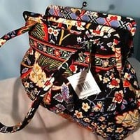 VERA BRADLEY ALICE KISSLOCK IN VERSAILLES PURSE BAG MSRP $71 NWT