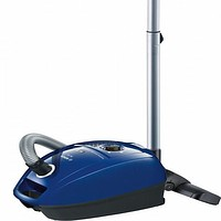Bagged Vacuum Cleaner BOSCH 222457 600W DualFiltration Blue